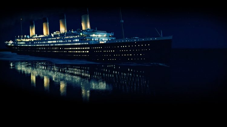 Wallpaper Titanic