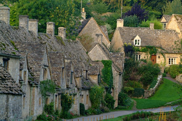 Bibury Cottage estate verdure